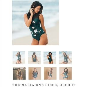 Albion fit swim suit Maria orchid SMALL GUC